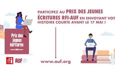 Lancement du Prix des jeunes écritures RFI-AUF 2020