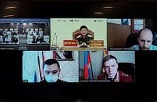 Les médecines militaires du Vietnam et de la Russie discutent de la lutte contre le COVID-19
