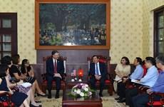 Les États-Unis et le Vietnam cherchent à étendre leur coopération dans la presse