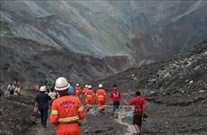 Le Vietnam envoie des sympathies au Myanmar suite à un glissement de terrain dans des mines de jade