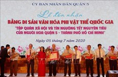 """Le """"Tet Nguyen Tieu"""" inscrit au patrimoine culturel immatériel national"""