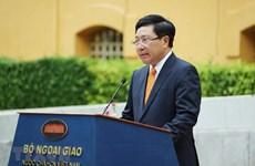 Cérémonie du lever du drapeau de l'ASEAN à Hanoï