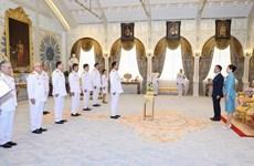 Nomination de sept nouveaux ministres au sein du cabinet thaïlandais