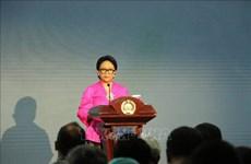 La ministre indonésienne des Affaires étrangères en visite officielle en Chine