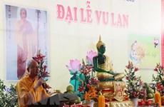 Les Vietnamiens au Laos préservent la beauté culturelle de la fête Vu Lan