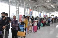 COVID-19: Plus de 340 citoyens vietnamiens bloqués en Thaïlande rapatriés
