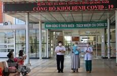 COVID-19 : 24 cas à Quang Nam et Hai Duong annoncés guéris