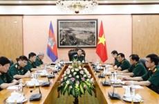 Vietnam – Cambodge : améliorer l'efficacité de la coopération dans la défense