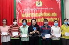 Kien Giang aux côtés des personnes touchées par le COVID-19 et les catastrophes naturelles