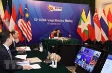 AMM-53 : les ministres réaffirment l'engagement à promouvoir la coopération face au COVID-19