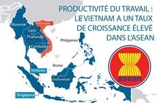 Productivité du travail : le Vietnam a un taux de croissance élevé dans l'ASEAN