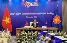 Réunion du Conseil de la Communauté économique de l'ASEAN