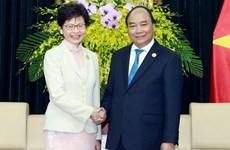 L'économie et le commerce, point brillant de la coopération avec Hong Kong (Chine)