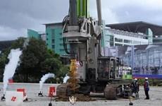 Construction d'un système de transport rapide reliant la Malaisie et Singapour