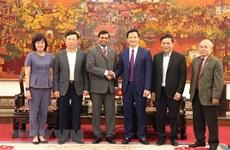 Le Sri Lanka se renseigne sur les potentialités d'investissement à Bac Ninh