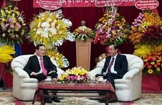 Hô Chi Minh Ville félicite le Laos pour sa 45e Fête nationale