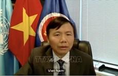 CNUDM 1982: le Vietnam appelle à une coopération internationale renforcée pour régler des différends