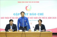 400 délégués participent au 3e Congrès des jeunes talents du Vietnam