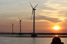 Le groupe PNE veut investir dans un projet éolien offshore à Binh Dinh