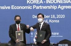 L'Indonésie et la R. de Corée signent l'accord de partenariat économique global
