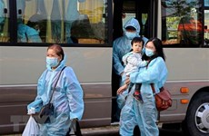 COVID-19: Près de 360 Vietnamiens rapatriés des Etats-Unis