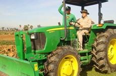 Le Cambodge se focalise sur la mécanisation de l'agriculture