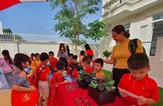 L'école maternelle la plus avancée du delta du Mékong à Can Tho