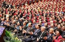 La cérémonie d'ouverture du 13e Congrès national du Parti couverte par des médias étrangers