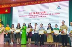 Tourisme : la VNA remporte trois prix de Ho Chi Minh-Ville