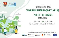 "Lancement de l'initiative ""Youth4Climate"" au Vietnam"