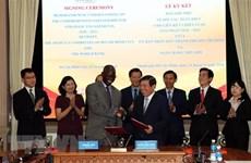 Ho Chi Minh-Ville et la Banque mondiale signent un mémorandum