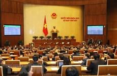 Résultats de la 6e session de l'Assemblée nationale