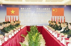 Défense : renforcement des relations entre le Vietnam et la Chine