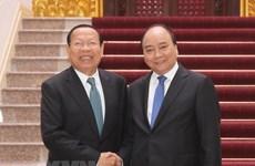 Le PM Nguyen Xuan Phuc recoit le ministre cambodgien du Plan