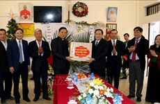 Vœux de Noël du président du Comité central du FPV aux catholiques de Ha Nam