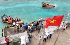 Des cadeaux pour les soldats en poste sur l'île Sinh Ton Dong