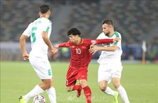 L'attaquant Nguyen Cong Phuong jouera en République de Corée