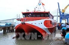 Mise en service du navire à grande vitesse Con Dao Express 36