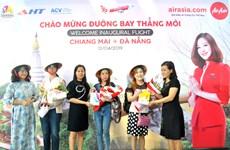 AirAsia : le premier vol direct Da Nang et Chiang Mai