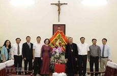 Pâques: félicitations aux catholiques de Hanoï