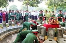 Kien Giang : rapatriement de près de 2.000 restes de soldats tombés au Cambodge