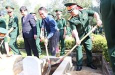 Thua Thien-Hue : inhumation des restes de soldats tombés au Laos
