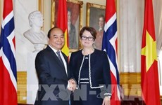 Entrevue entre le PM Nguyen Xuan Phuc et la présidente du Parlement norvégien