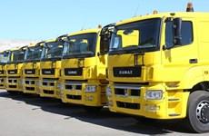 Kamaz annonce le plan de montage des camions au Vietnam