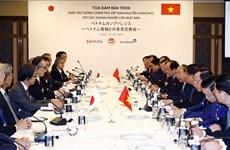 Le PM Nguyen Xuan Phuc rencontre les dirigeants de grandes entreprises japonaises