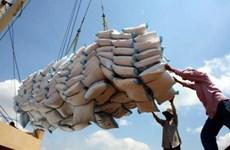 Les exportations du riz évaluées à plus de 4 millions de tonnes en sept mois