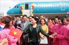 La présidente de l'AN vietnamienne Nguyen Thi Kim Ngan se rend à la province d'Udon Thani