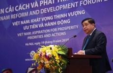 Ouverture du forum de réforme et de développement du Vietnam 2019