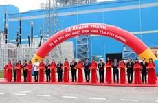 La centrale thermique Vinh Tan 4 inaugurée à Binh Thuân