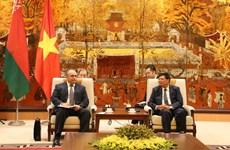 Hanoï renforce la coopération avec la Biélorussie dans plusieurs domaines